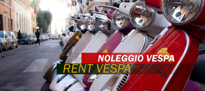 RENT SCOOTERS / VESPA